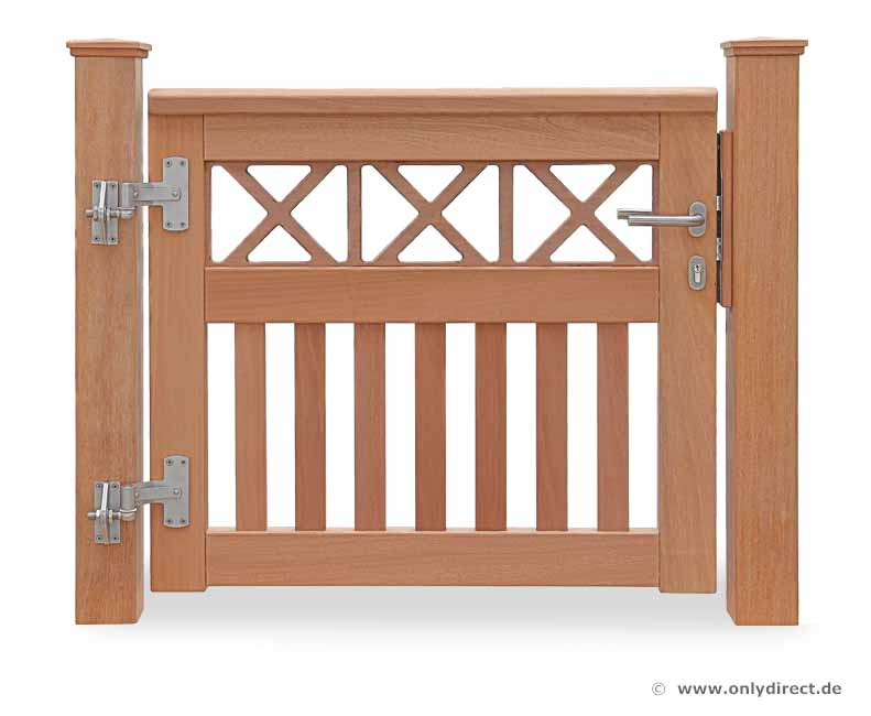 gartentorbeschlag aus edelstahl das holztor. Black Bedroom Furniture Sets. Home Design Ideas