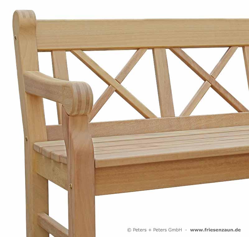 holzbank hampton das holztor. Black Bedroom Furniture Sets. Home Design Ideas